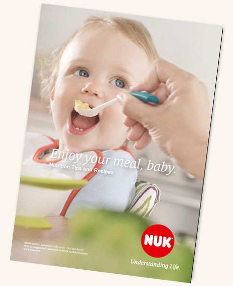 [Translate to english australien:] NUK Kids Food Recipe Booklet