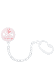 NUK Baby Rose & Blue Soother Chain