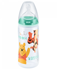 NUK First Choice Plus Disney Winnie the Pooh Baby Bottle with teat